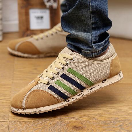 Мужчины квартиры мужчины обувь свободного покроя обувь тенденция комфортабельный мужчины в лифт обувь