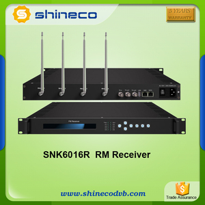 Chengdu Shineco FM Band Broadcat Radio Receiver Antenna Transmitter for Sale