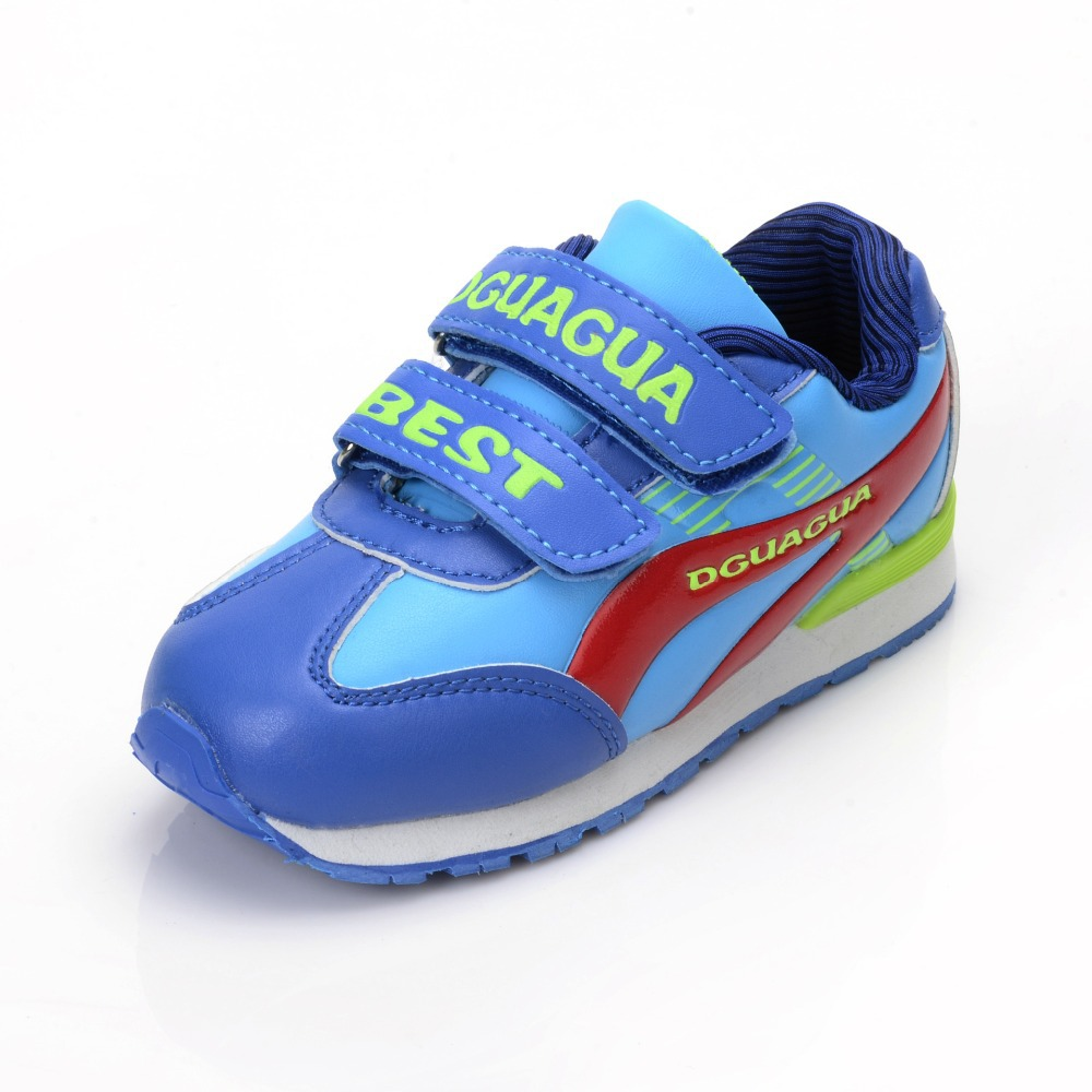 22db4160e4a9 Buy 2015 New Fashion Mesh Children Shoes Velcro Breathable Kids Trainers Sport  Shoes Outdoor Kinderschoenen Running Sport Sneakers in Cheap Price on ...