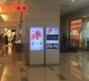 High quality 49 inch TFT floor floor stand digital signage interactive touch screen ,hot sale selfie photo booth kiosk