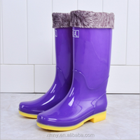 Buy Plastic rain boots, agriculture water shoes, water boots W ...