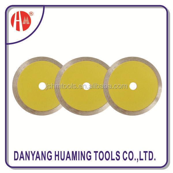 zhenjiang manufacturer Diamond Cutting Disc in Plastic bag