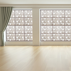 transparent eco-friendly static cling window film for home use