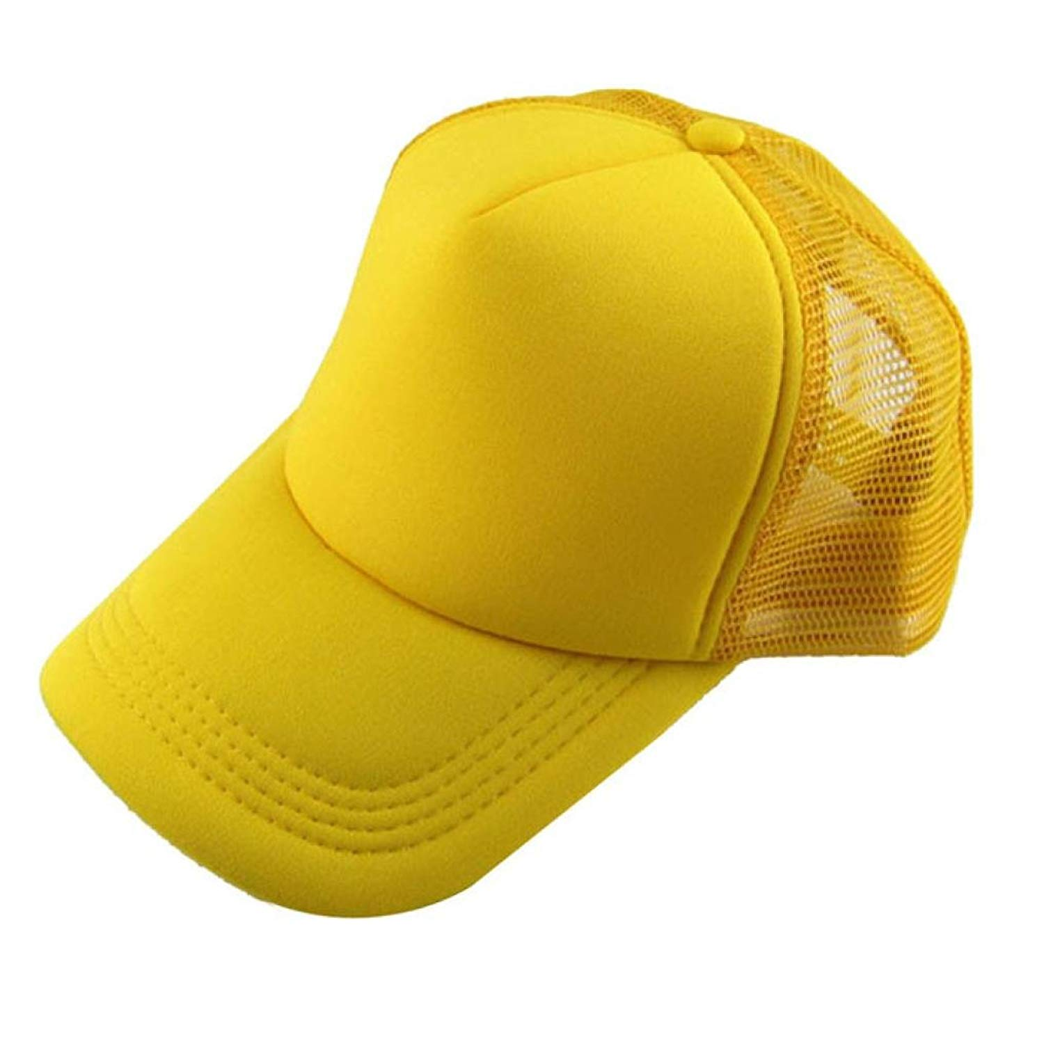 Get Quotations · Funic Clearance Sale Unisex Casual Solid Hats Baseball  Caps Trucker Mesh Blank Visor Hat Adjustable cd5677098698