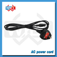 BS VDE extension UK AC power supply cord