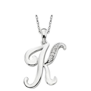 ?z(h?e?9l.?k_solid sterling silver letter k r b c d e f g h i