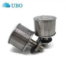 Wedge v wire slot water filter nozzle strainer for filtration tank