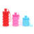 silicone foldable sport water bottle collapsible for promotion