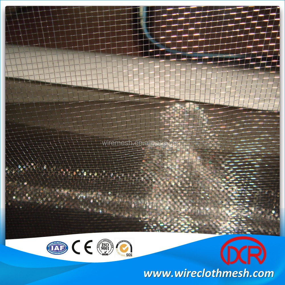 Customized stainless steel security window wire mesh for Window mesh screen