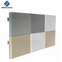 Building Materials Exterior Metal Outdoor Colorful Aluminum Wall Panels