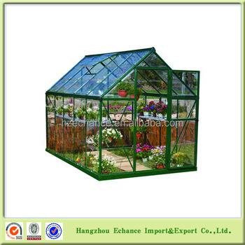 Garden polycarbonate aluminum frame outdoor garden greenhouse for sale flower - Serre aluminium polycarbonate ...