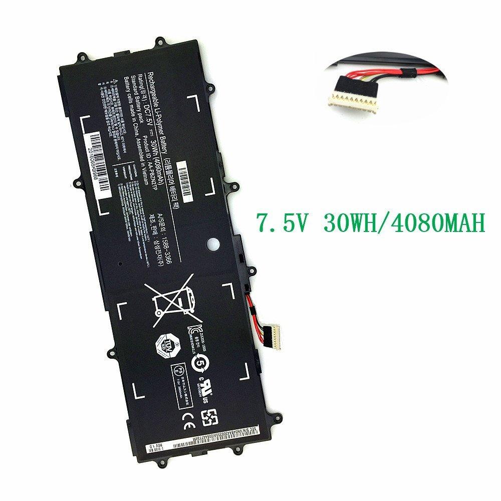 TSKYBEAR New Aa-pbzn2tp Laptop Battery for Samsung Chromebook 3 ATIV 303C Xe303c12 Xe303c12-a01us 905s3g 910s3g 915s3g Ba43-00355a[ 7.5V 4080mah 30W ]