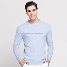wholesale instock wool plain pullover man wool sweater design