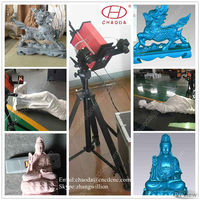 High precision cnc 3d laser scanner for wood carving machinery