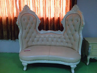 danxueya luxury chaise lounge/chaise lounge chair/white wedding chaise upholstered design F10#