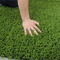 Customized 20mm-50mm outdoor football field synthetic grass carpet for playground