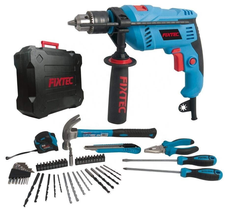 600W 13mm Impact Drill kit with 50pcs accessories