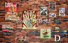 На заказ настенная бумага ретро имитация кирпичной стены Гостиная Ресторан Кофейня, чайная фоновая стена домашний декор настенная бумага(Китай)