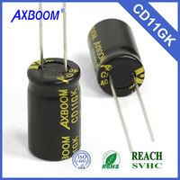 wide capacitance aluminum electrolytic capacitor special for LED lighting through hole package