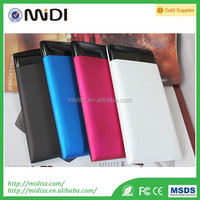 Portable slim powerbank ,mobile power bank 10000mah for iPhone