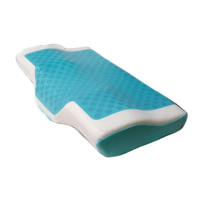 Germany Raw Material Hot Sale Cool Gel Foam Bed Sleeping Hot Sale Memory Foam Massage Cheap Gel Bread Pillow
