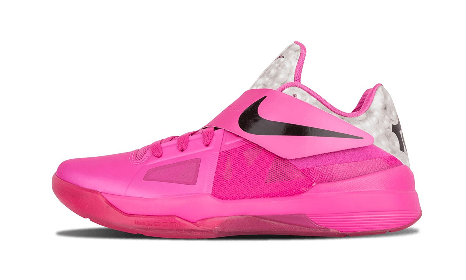 sports shoes 8c908 a22fc Get Quotations · Nike Zoom Kd Iv Pink Fire Metallic Silver (473679-601)
