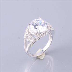 High Quality Handcrafted Zircon Pave Charm Rings