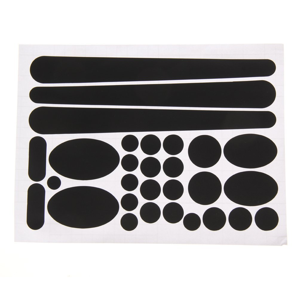 TTnight Bicycle Stickers Carbon Fibre Chainstay Frame Protector Kit Set for Bike