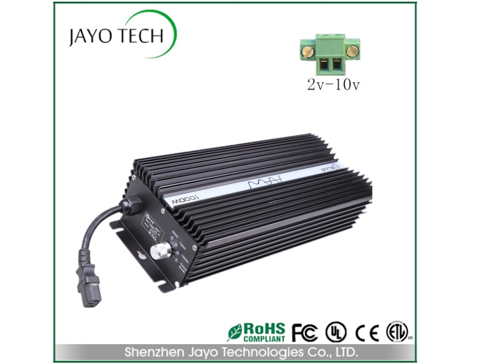1000W digital ballast match High Pressure Sodium with 2-10v dimming