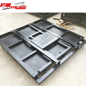 Excellent Quality Aluminum Crowd Control Barrier People Safety Folding Tensa Barriers
