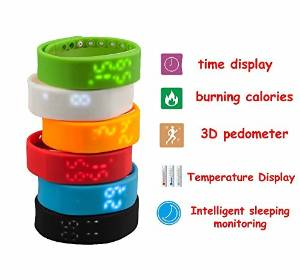 Efanr® 2015 Water Resistant Bluetooth Smart Watch Bracelet Exercise Smartwatch Running Wristbands Sports Watches Luxury Fitness Health Tracking System Wrist Watch Women Men Cell Phone Mate Partner 3D Pedometer Step Walking Distance Calorie Counter Activity Tracker Sleep Monitoring Silicone