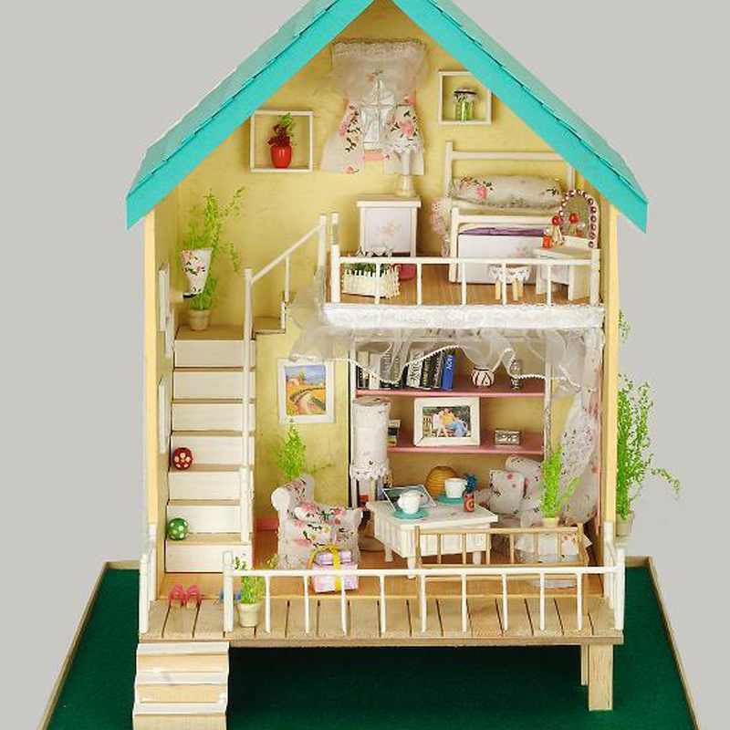 4 Modi per Costruire una Casa per le Bambole - wikiHow