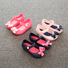Wholesale China Newborn Baby Girl Shoes Cute Pink Kids Melissa Jelly Shoes