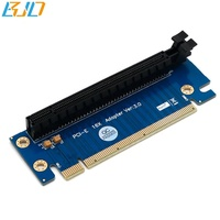 PCI Express PCIe 16X Riser Card 90 Degree PCI-E X16 Graphics card steering card for 2U Server Chassis