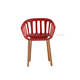 Decoration type plastic chair latest bedroom furniture designs