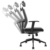 HUASH(vaseat) 2019 Black Swivel Waiting Room Visitors Adjustable Modern Mesh Office Chair