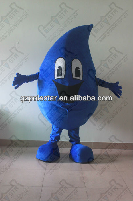 NO.3717 huge style water drop mascot costumes