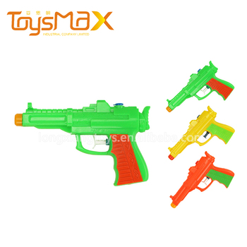 Hot selling summer toys colorful children's toy plastic cannon toy with certificates for wholesale
