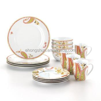 fine china porcelain dinnerware christmas germany porcelain dinner set  sc 1 st  Alibaba & Fine China Porcelain Dinnerware Christmas Germany Porcelain Dinner ...