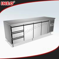 Commercial Kitchen Table Top Fridge/Kitchen Fridges/2 Door Fridge