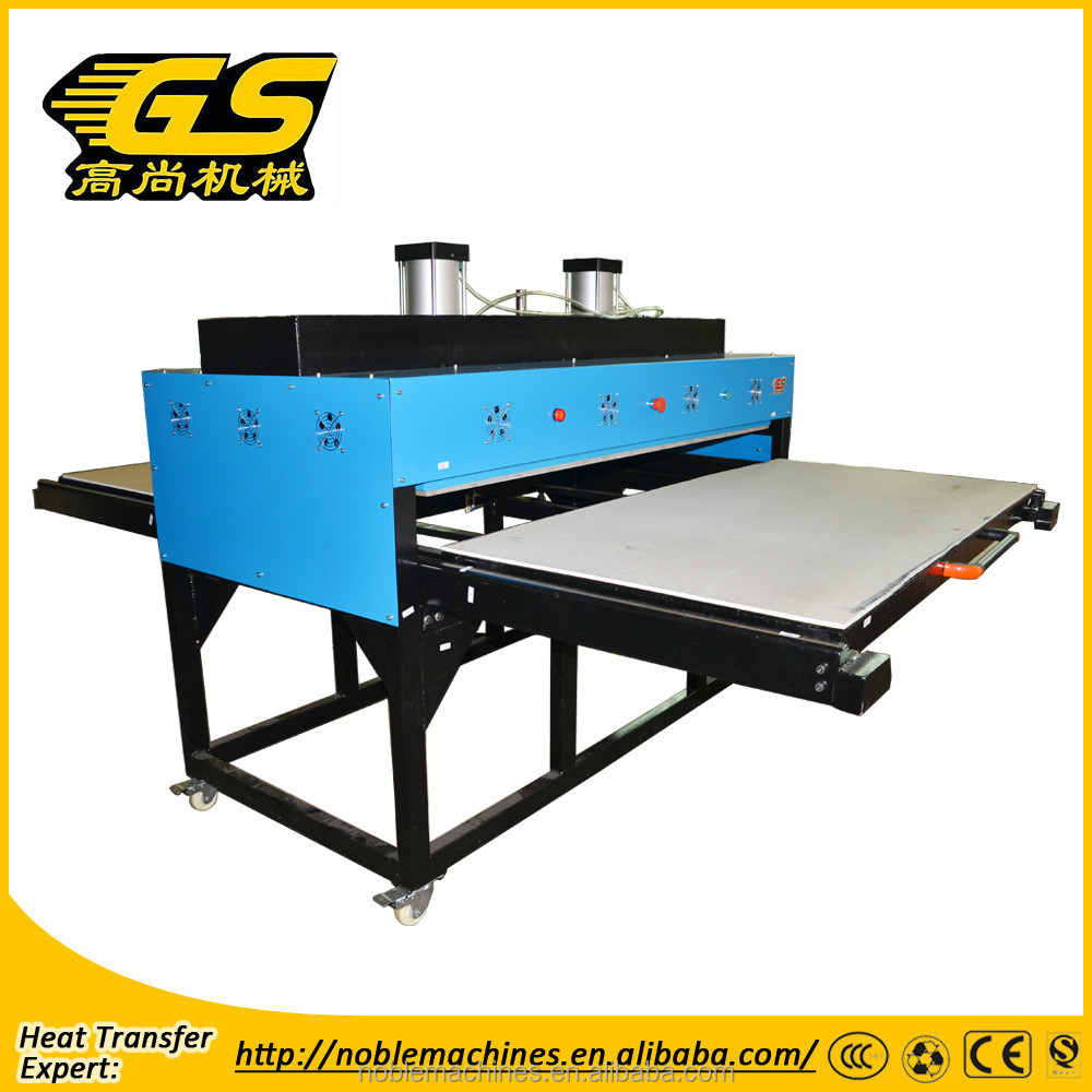New Heat Press Machine T-Shirts Flatbed Sublimation Transfer Machine large format