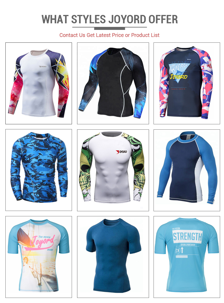 Custom Bjj Sublimated Printed Design Your Own Mma Rash Guard Manufacturer