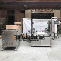 Automatic dropper glass bottle e-juice filler capper, essential oil nail polish filling capping machine