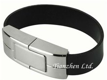 High Quality High-speed Factory Fashion OEM Logo Wristband USB flash drive