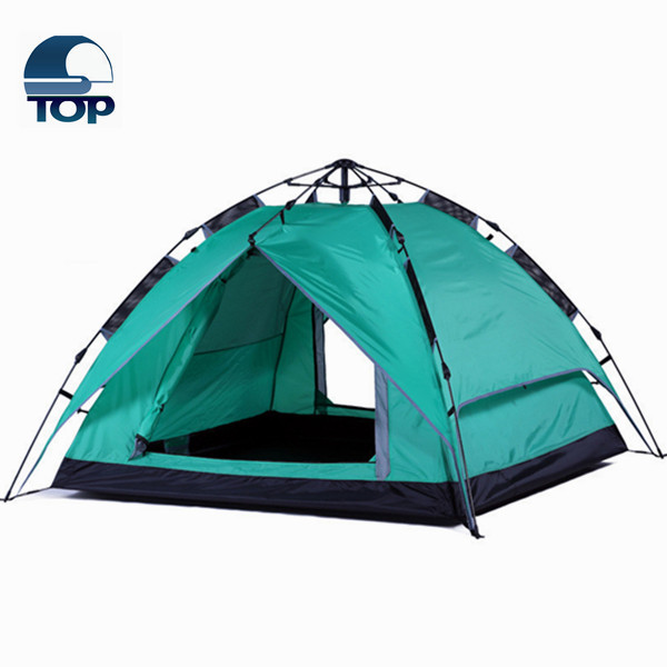 3-4 Camouflage Camping Tent Hiking Easy Setup Instant Pop up Tent