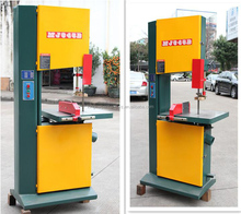 MJ345B Wood cutting vertical band saw machine from factory