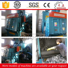 Auto Loading and Unloading Tumble Belt Shot Blasting Machine for Small Metal Objects