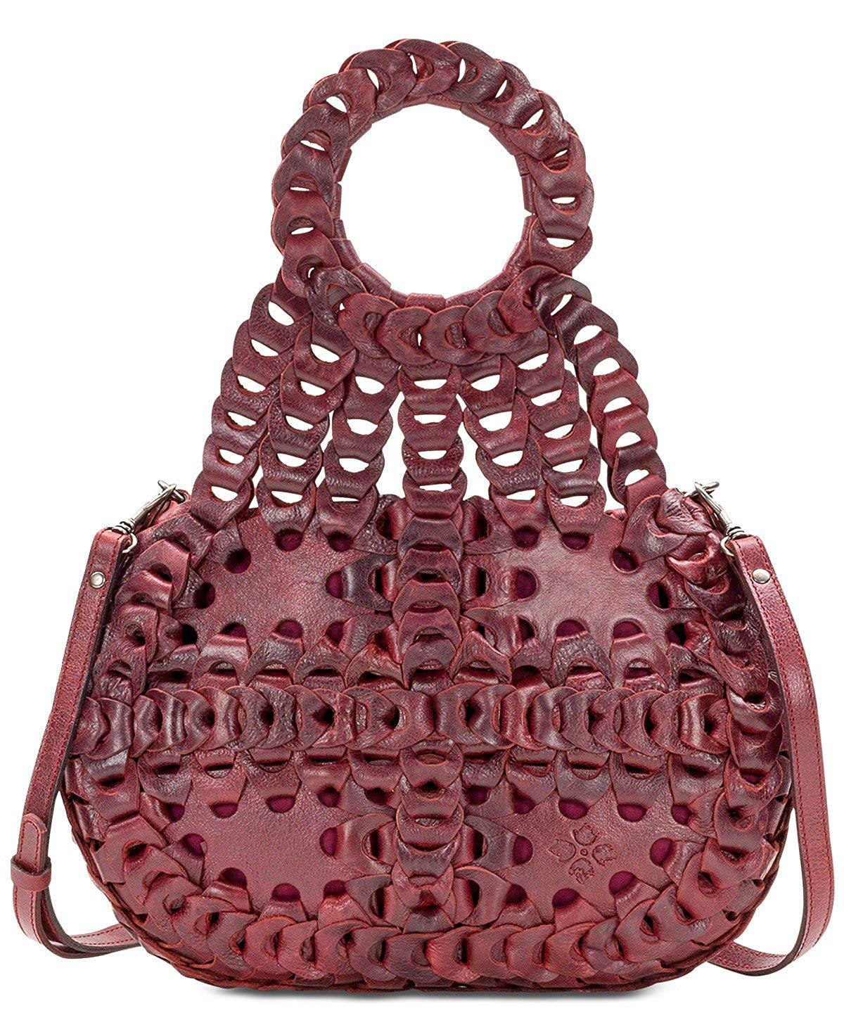 fdb8ff25c3b2 Get Quotations · Patricia Nash Ticci RED Medium Shoulder Bag