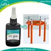 Leading technology transparent for glass and metal uv glue