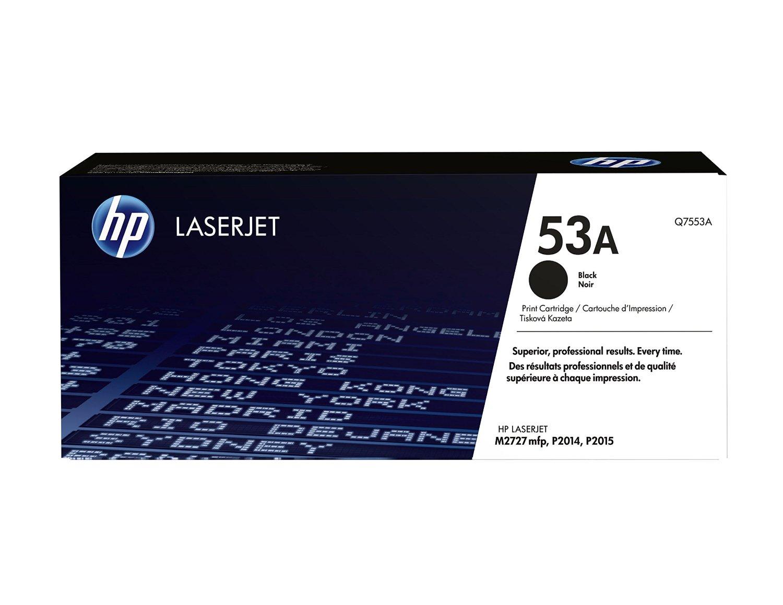 HP 53A (Q7553A) Black Original Toner Cartridge for HP LaserJet M2727 P2014 P2015